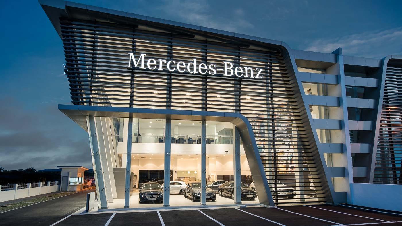 Case study – Mercedes Showroom, Setia Alam, Malaysia